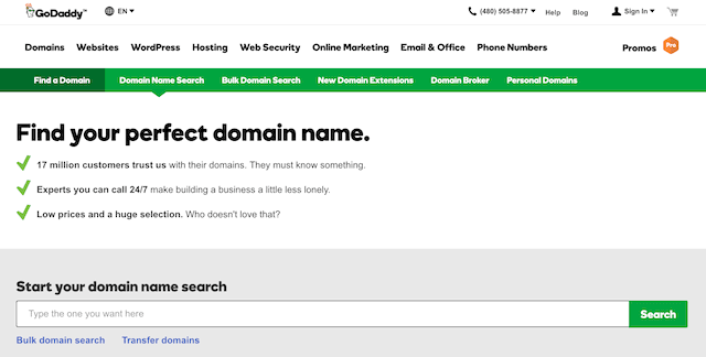 Buy and Sell Domain Names