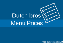 Dutch bros menu and prices