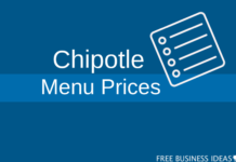 chipotle menu prices