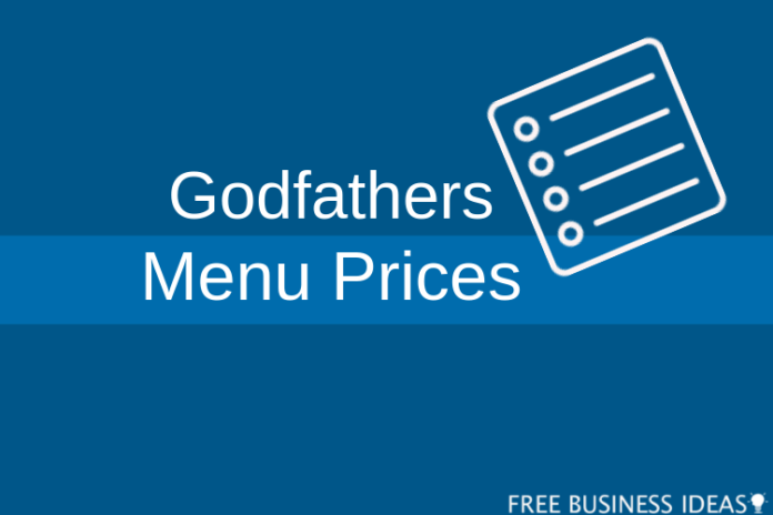 godfather pizza menu prices
