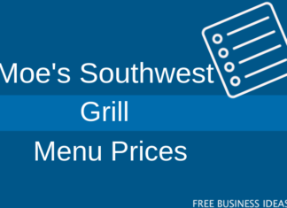 moes southwest grill menu prices