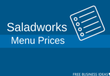 saladworks menu prices