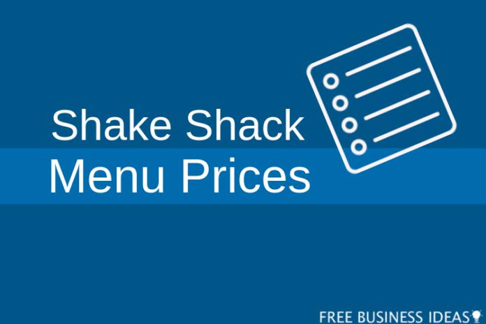 shake shack menu prices