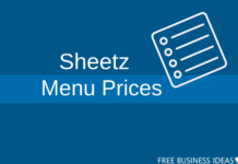 sheetz food menu