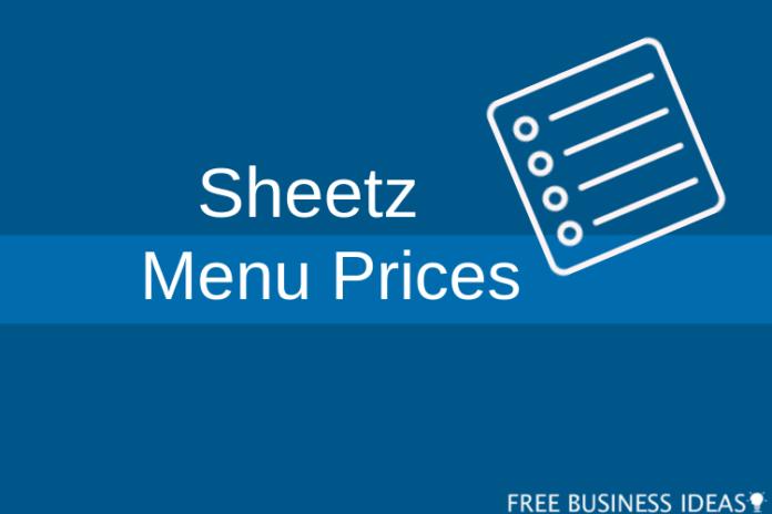 sheetz food menu