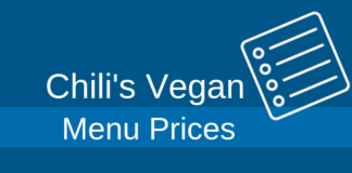chilis vegan menu