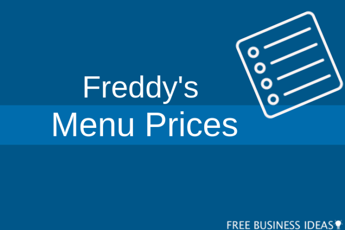 freddy's menu prices