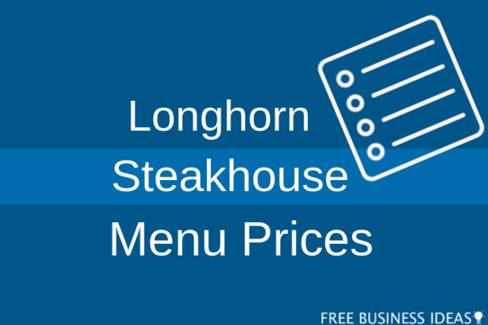 longhorn steakhouse menu prices