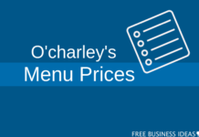 ocharleys menu price