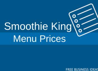 smoothie king menu prices