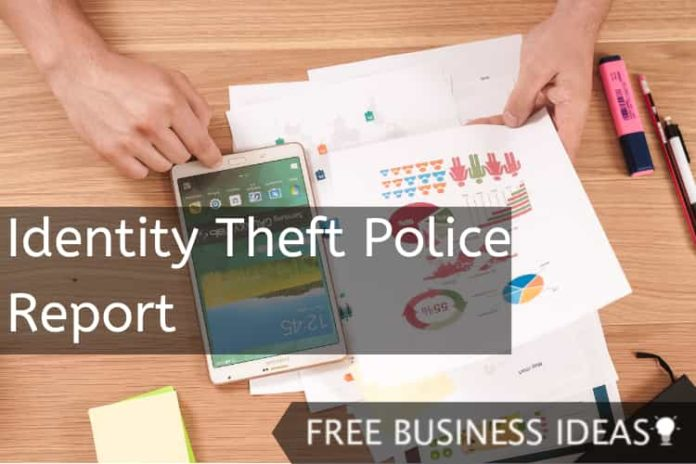identity theft police report